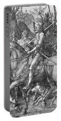 Knight Death And The Devil Portable Battery Charger
