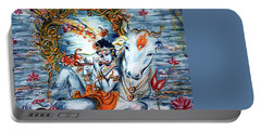 Krishna Portable Battery Charger by Harsh Malik