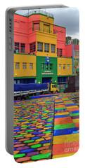 Portable Battery Charger featuring the photograph La Boca 01 by Bernardo Galmarini
