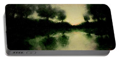 Lagoon At Sunset Portable Battery Charger