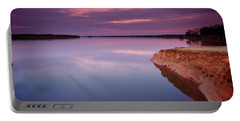 Lake Sunset Portable Battery Charger