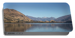 Lake Wanaka In New Zealand Portable Battery Charger