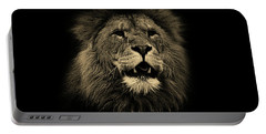 Lions Roar Portable Battery Charger