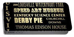 Louisville Famous Landmarks Portable Battery Charger