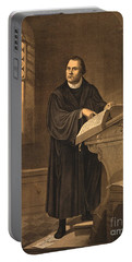 Martin Luther, German Theologian Portable Battery Charger