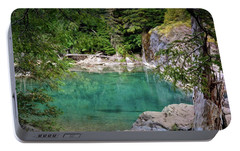 Portable Battery Charger featuring the photograph Mcdonald Creek 10 by Marty Koch