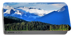 Mendenhall Glacier Park Portable Battery Charger by Martin Cline