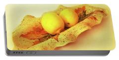 Mini Long Bowl Portable Battery Charger by Itzhak Richter