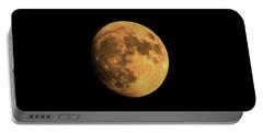 Moon Portable Battery Charger by Rowana Ray