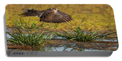 Portable Battery Charger featuring the photograph Mourning Dove In Flight by Tam Ryan