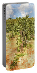 Napa Vineyard In The Spring Portable Battery Charger