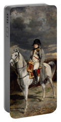 Napoleon Bonaparte On Horseback Portable Battery Charger