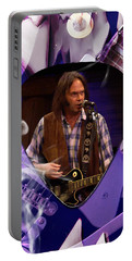 Neil Young Art Portable Battery Charger