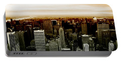New York Portable Battery Charger by Roger Lighterness