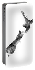 New Zealand Map Portable Battery Charger
