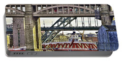 Newcastle Upon Tyne Bridges Portable Battery Charger