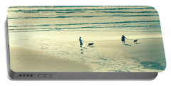 Oceanside Oregon Portable Battery Charger by Amyn Nasser