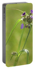 Ohio Spiderwort Portable Battery Charger