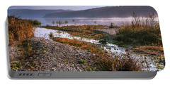 One Autumn Day At Ognyanovo Dam Portable Battery Charger by Jivko Nakev