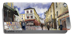 Paris Montmartre  Portable Battery Charger