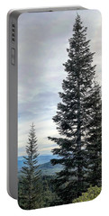 2 Pine Trees Portable Battery Charger