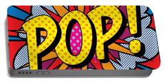 Pop Art - 4 Portable Battery Charger