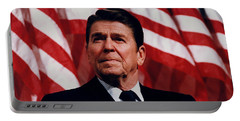 President Ronald Reagan Portable Battery Charger