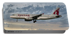 Qatar Airways Airbus A320-232 Portable Battery Charger