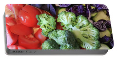 Raw Ingredients Portable Battery Charger by Tom Gowanlock