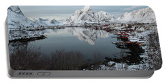 Portable Battery Charger featuring the photograph Reine, Lofoten 4 by Dubi Roman