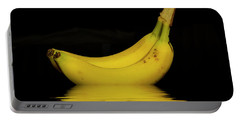 Ripe Yellow Bananas Portable Battery Charger by David French