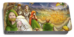 Robin Hood And Matilda Portable Battery Charger