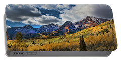 Rocky Mountain Fall Portable Battery Charger