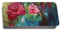 Roses One Of A Kind Handmade Portable Battery Charger
