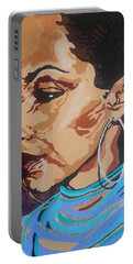 Sade Adu Portable Battery Charger by Rachel Natalie Rawlins