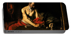Saint Jerome Writing Portable Battery Charger