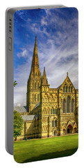 Salisbury Cathedral, Uk Portable Battery Charger