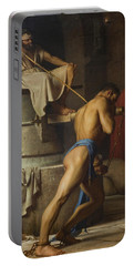 Samson And The Philistines Portable Battery Charger