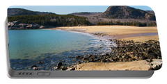 Sand Beach Acadia National Park Portable Battery Charger