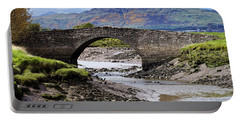 Portable Battery Charger featuring the photograph Scottish Scenery by Jeremy Lavender Photography