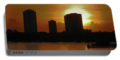 Portable Battery Charger featuring the photograph 2- Singer Island by Joseph Keane