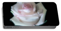 Soft Pink Rose Bud Portable Battery Charger