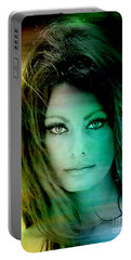 Sophia Loren Portable Battery Charger