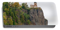 Split Rock Lighthouse Portable Battery Charger by Steve Stuller