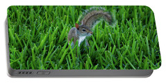 Portable Battery Charger featuring the photograph 2- Squirrel by Joseph Keane