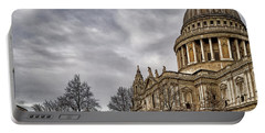 St Pauls Cathedral Portable Battery Charger by Shirley Mitchell