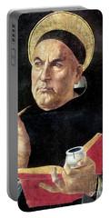 St. Thomas Aquinas Portable Battery Charger
