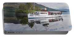 Steamship Sir Walter Scott On Loch Katrine Portable Battery Charger