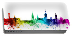 Stockholm Sweden Skyline Portable Battery Charger