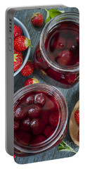 Strawberry Preserve Portable Battery Charger